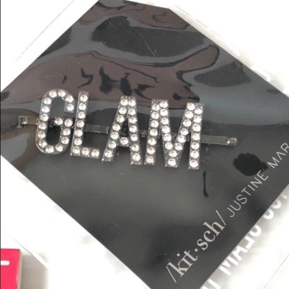 Glam Beauty Kitsch Hair Clip Bling Glamour